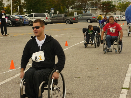 Wheelchair race2
